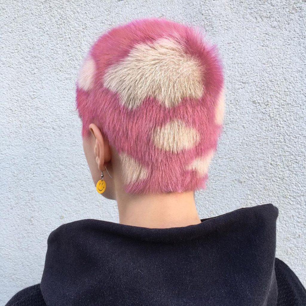 #2 | Красим волосы в безумные цвета, как Ребекка Матейдес | Zestradar
