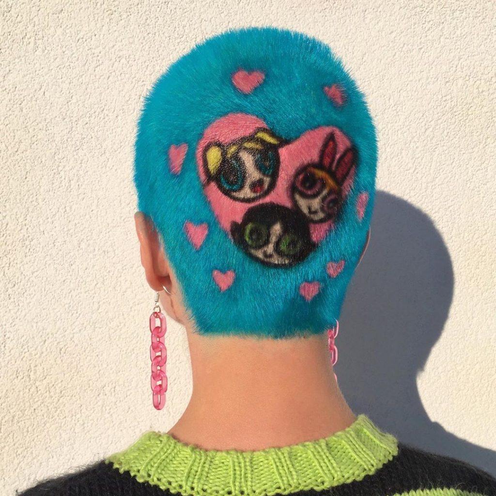 #4 | Красим волосы в безумные цвета, как Ребекка Матейдес | Zestradar