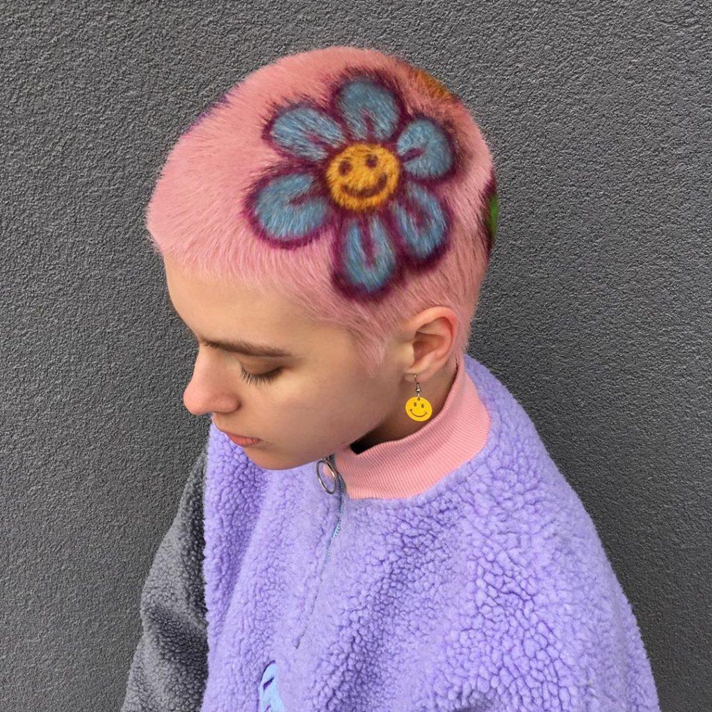 #6 | Красим волосы в безумные цвета, как Ребекка Матейдес | Zestradar