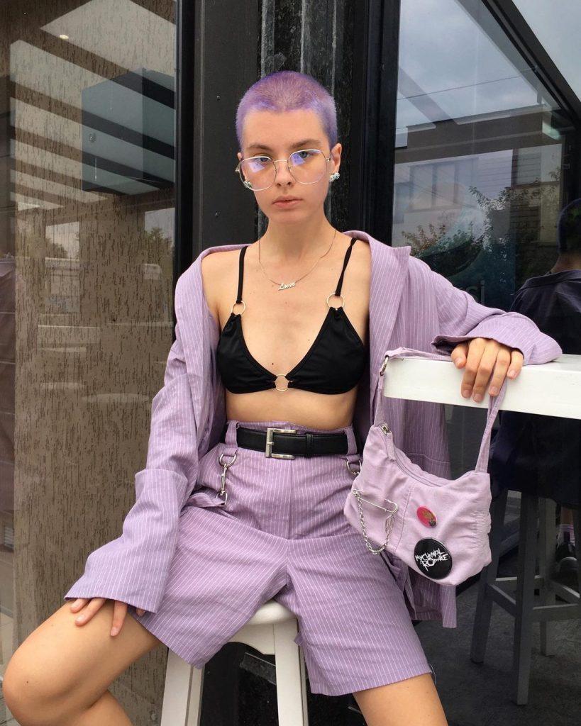 #8 | Красим волосы в безумные цвета, как Ребекка Матейдес | Zestradar