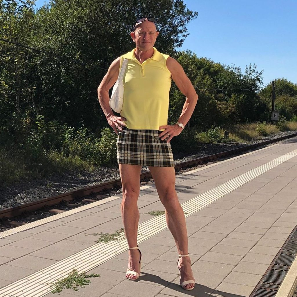#1 | 61-Year-Old Man Wears Skirts and High Heels To Work and Looks Fantastic! | Zestradar