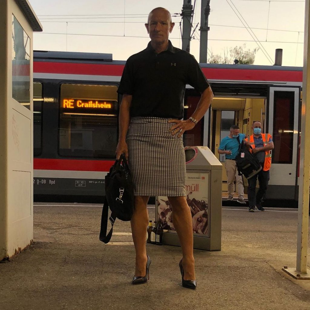 #11 | 61-Year-Old Man Wears Skirts and High Heels To Work and Looks Fantastic! | Zestradar