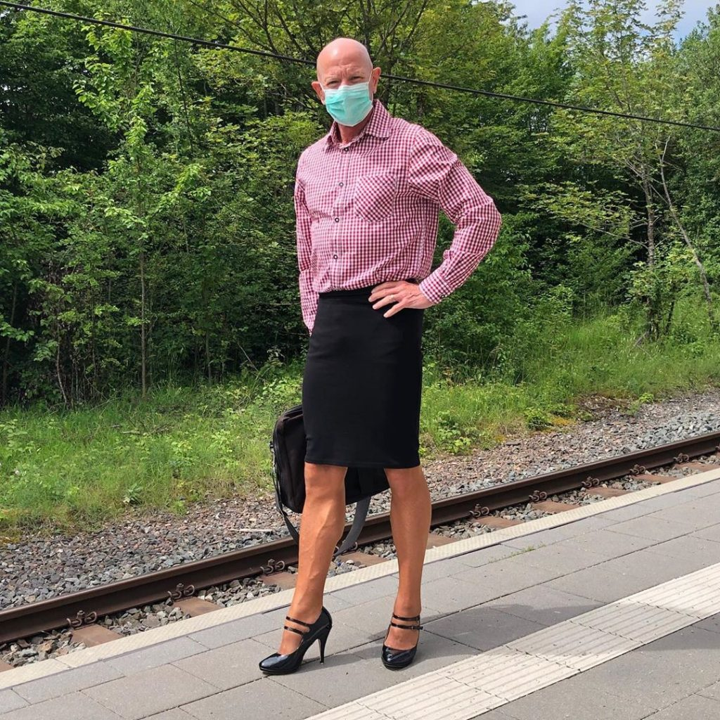 #13 | 61-Year-Old Man Wears Skirts and High Heels To Work and Looks Fantastic! | Zestradar