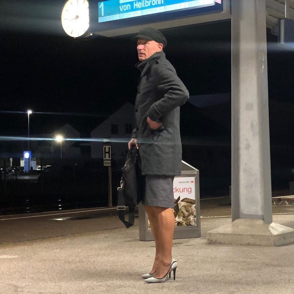 #15 | 61-Year-Old Man Wears Skirts and High Heels To Work and Looks Fantastic! | Zestradar