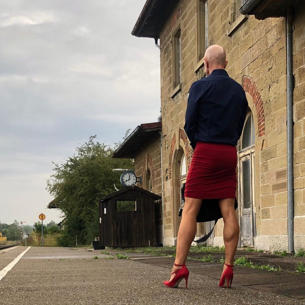 #2 | 61-Year-Old Man Wears Skirts and High Heels To Work and Looks Fantastic! | Zestradar