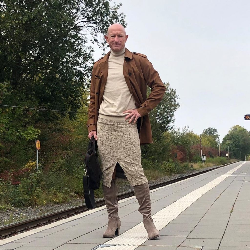 #3 | 61-Year-Old Man Wears Skirts and High Heels To Work and Looks Fantastic! | Zestradar
