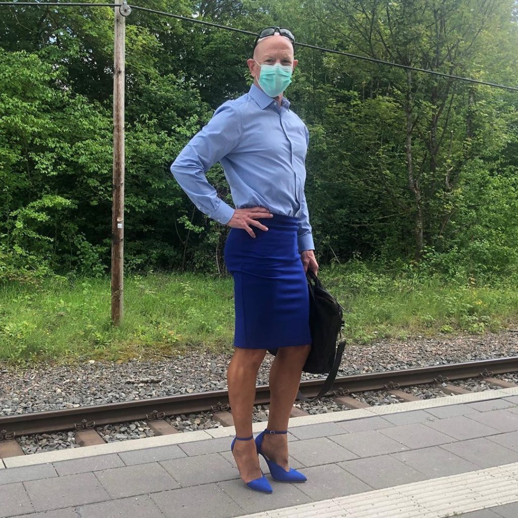 #4 | 61-Year-Old Man Wears Skirts and High Heels To Work and Looks Fantastic! | Zestradar