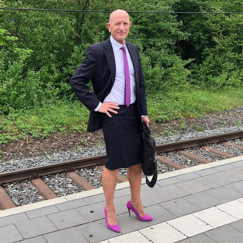 #8 | 61-Year-Old Man Wears Skirts and High Heels To Work and Looks Fantastic! | Zestradar