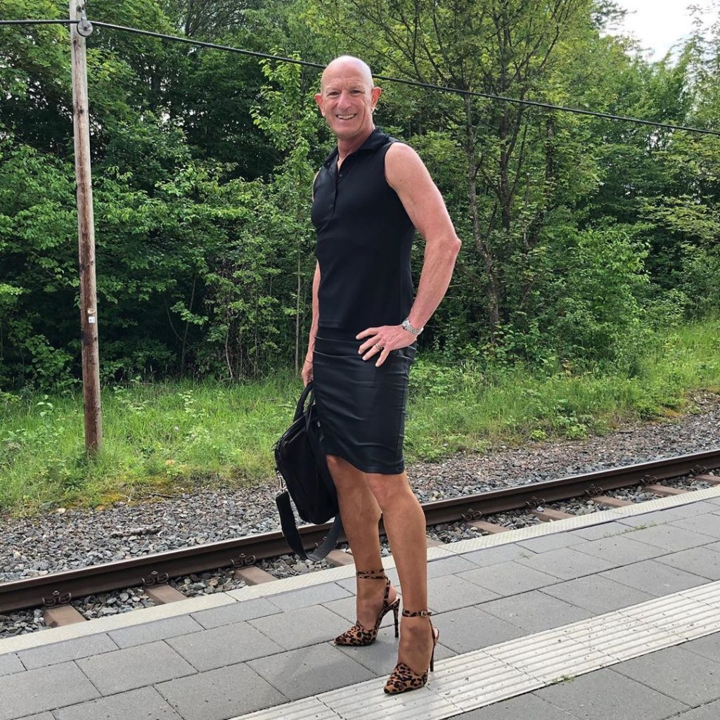 #9 | 61-Year-Old Man Wears Skirts and High Heels To Work and Looks Fantastic! | Zestradar