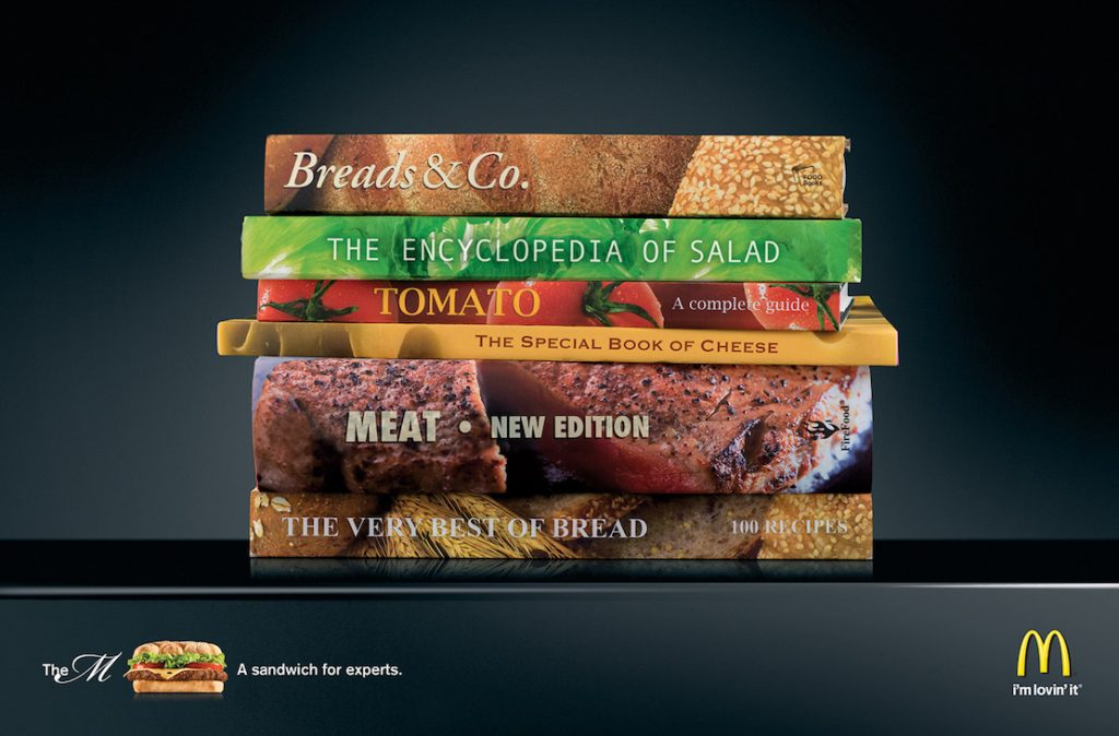 Literary Approach | The Best and Most Creative McDonald's Ads | Zestradar