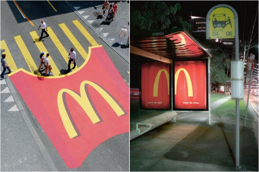 Blend Into The Environment | The Best and Most Creative McDonald's Ads | Zestradar
