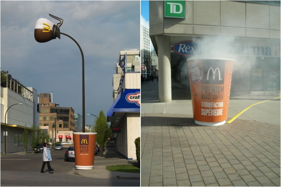A Cup Of Coffee | The Best and Most Creative McDonald's Ads | Zestradar