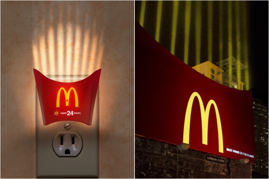 Light At The End Of The Tunnel | The Best and Most Creative McDonald's Ads | Zestradar