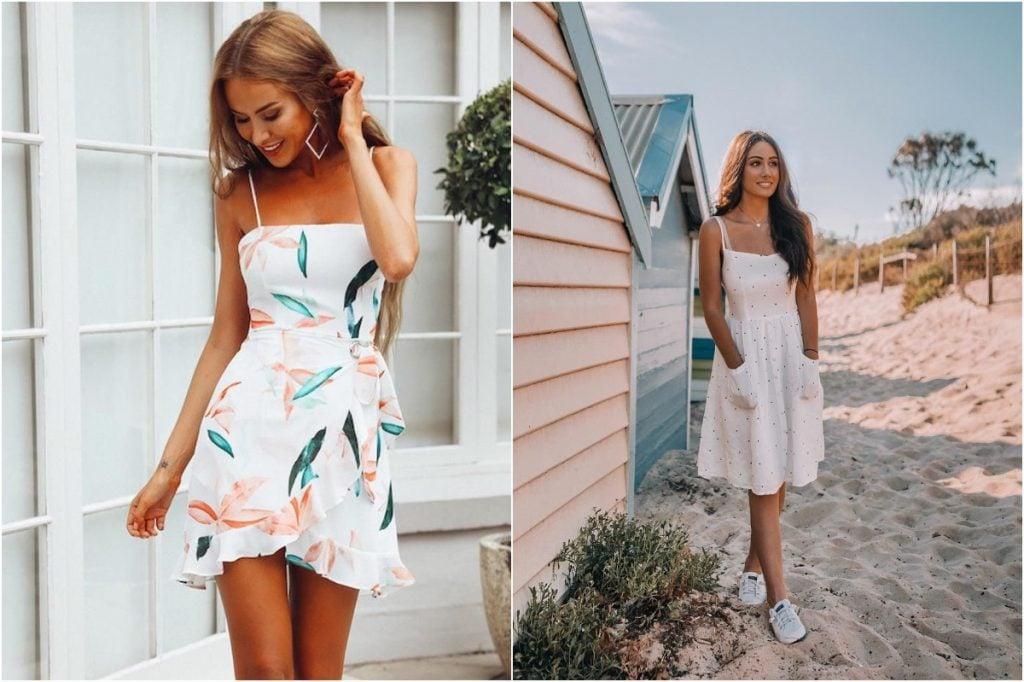 Sundresses | 10 Ordinary Women's Fashion Statements That Men Find Sexy | Zestradar