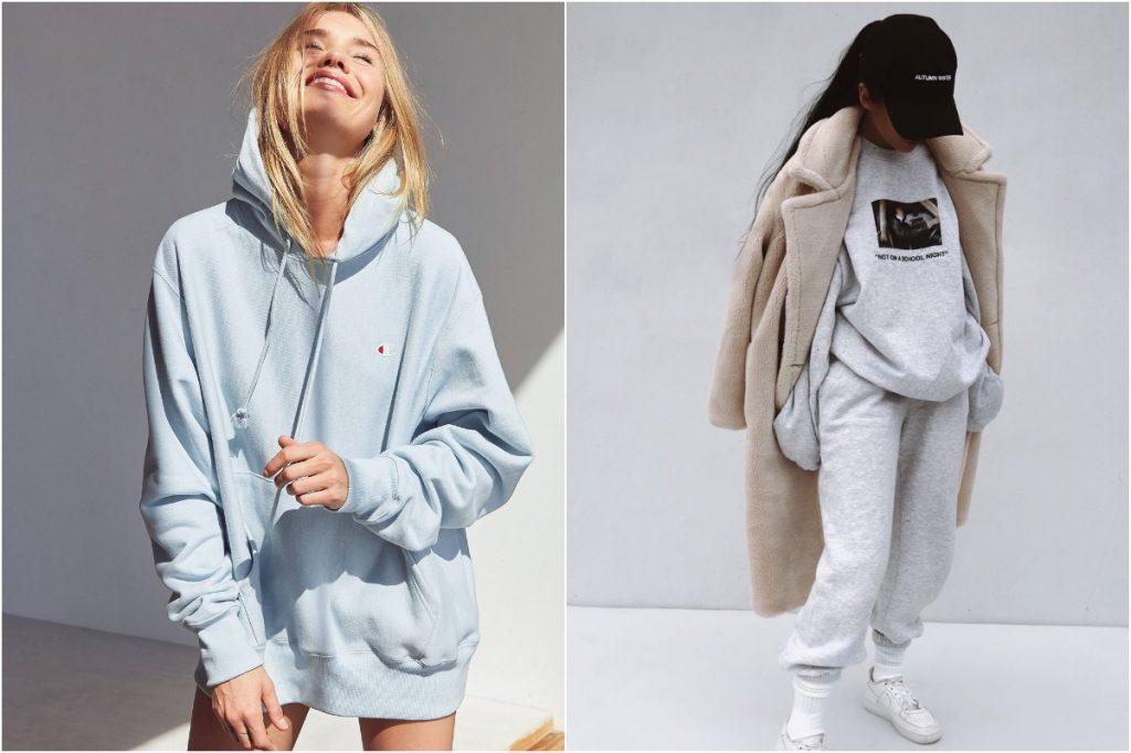 Hoodies | 10 Ordinary Women's Fashion Statements That Men Find Sexy | Zestradar