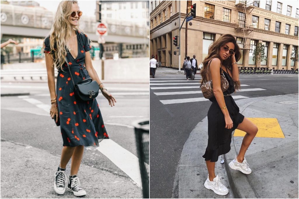 Tennis Shoes | 10 Ordinary Women's Fashion Statements That Men Find Sexy | Zestradar