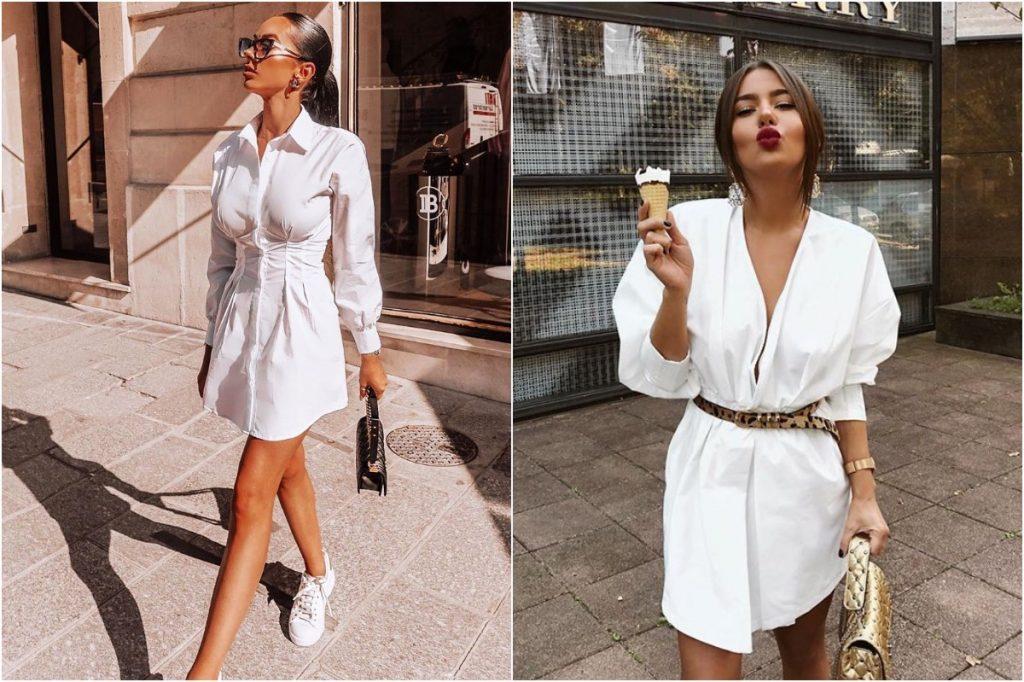 Long Shirt/Dress Thingies | 10 Ordinary Women's Fashion Statements That Men Find Sexy | Zestradar