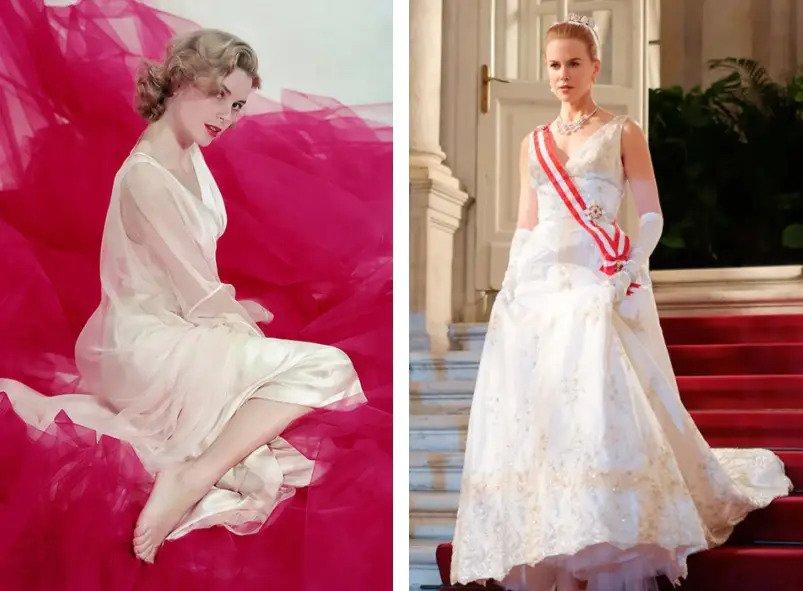 Николь Кидман — актриса и принцесса Монако Грейс Келли, «Принцесса Монако» | 8 красавиц, сыгравшие других знаменитых красавиц | Zestradar