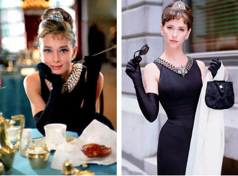Дженнифер Лав Хьюитт — актриса Одри Хепберн, «История Одри Хепберн» | 8 красавиц, сыгравшие других знаменитых красавиц | Zestradar