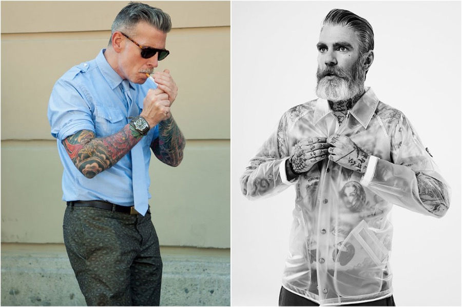 #1 | Badass Tattooed Elderly Who Look Rad AF | Zestradar