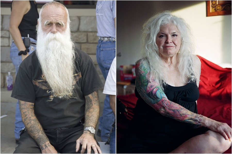 #2 | Badass Tattooed Elderly Who Look Rad AF | Zestradar