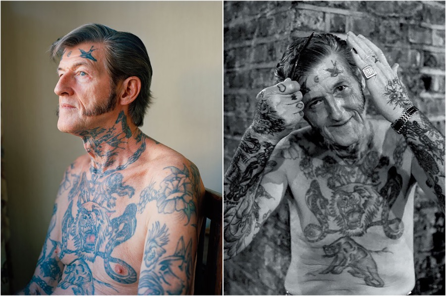 #3 | Badass Tattooed Elderly Who Look Rad AF | Zestradar