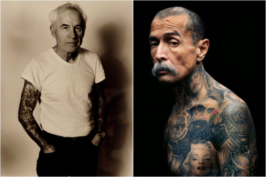 #4 | Badass Tattooed Elderly Who Look Rad AF | Zestradar