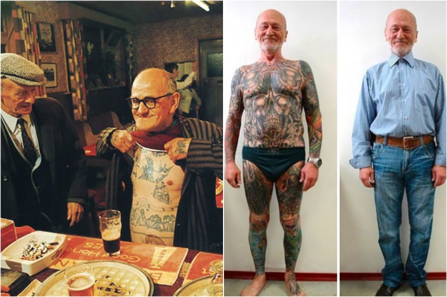 #5 | Badass Tattooed Elderly Who Look Rad AF | Zestradar