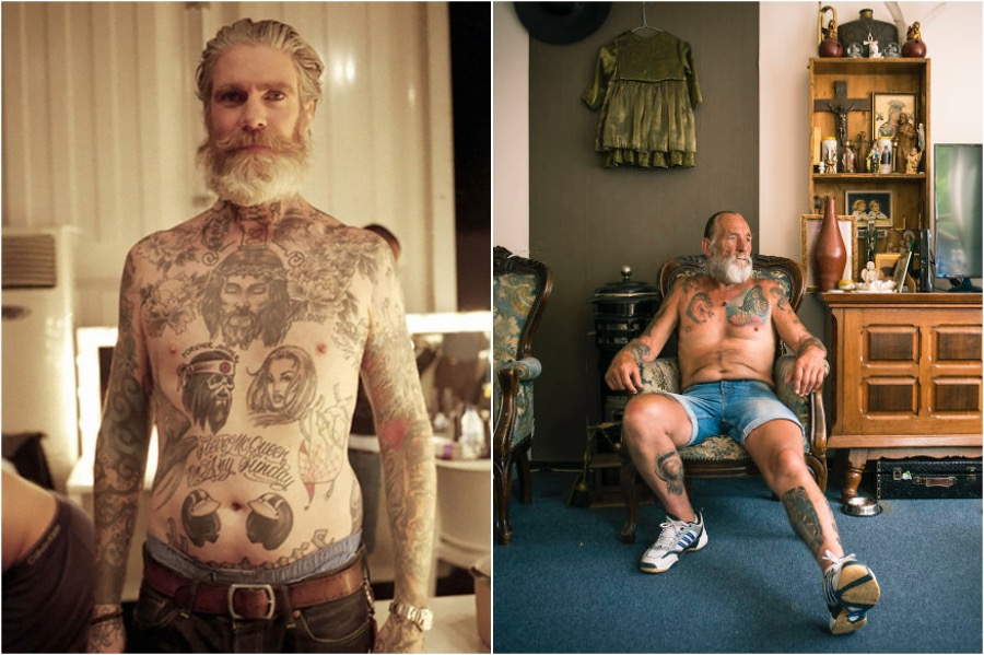 #6 | Badass Tattooed Elderly Who Look Rad AF | Zestradar
