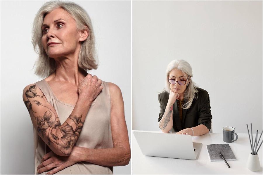 Badass Tattooed Elderly Who Look Rad AF | Zestradar