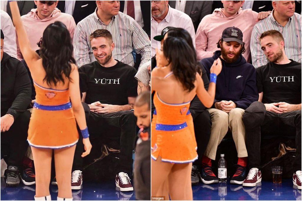 Robert Pattinson   Celebrities Gawking At Cheerleaders   Zestradar