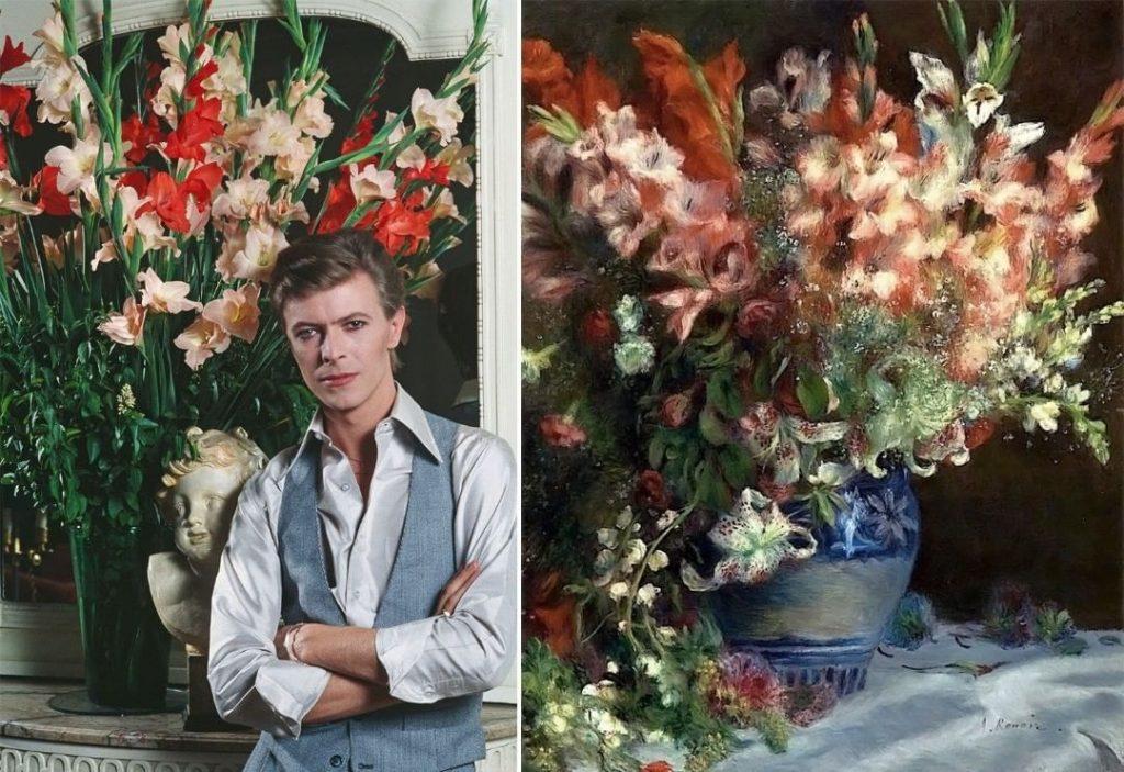 #11 | David Bowie As Flowers | Zestradar