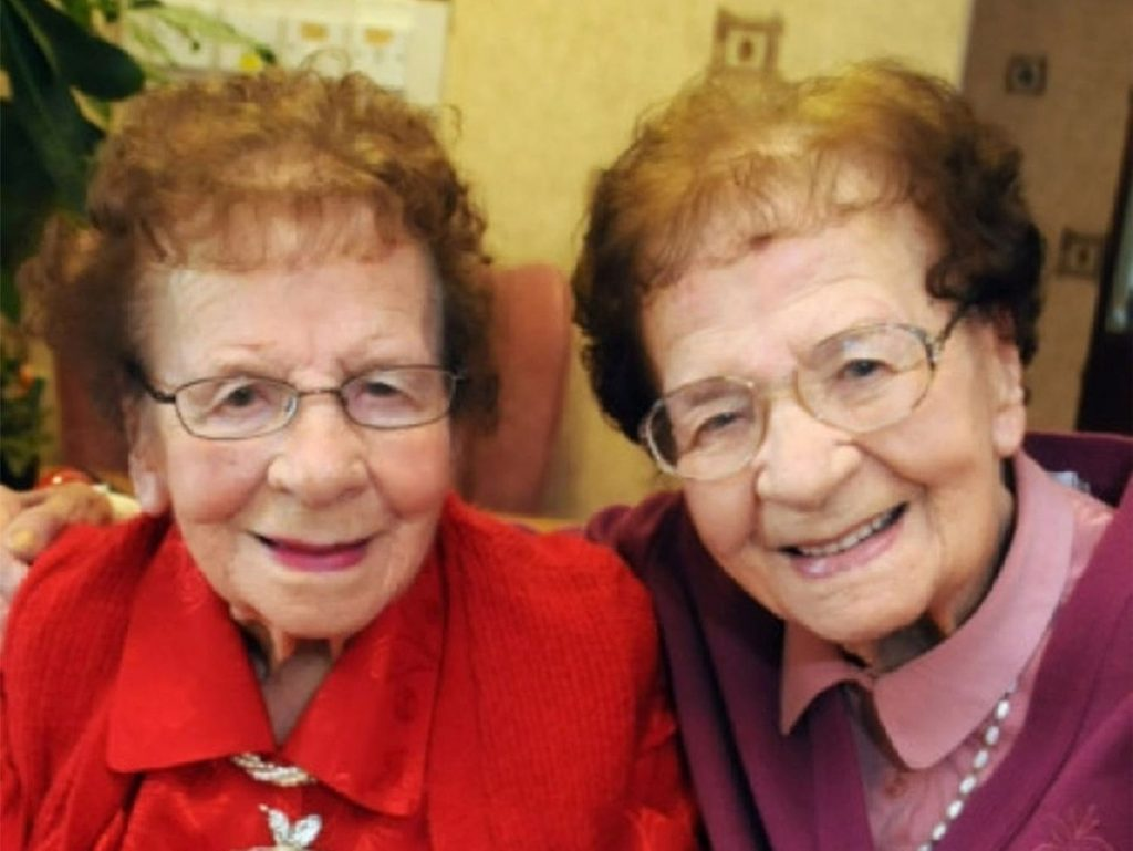 6 Oldest Recorded Twins in the World #4   Brain Berries
