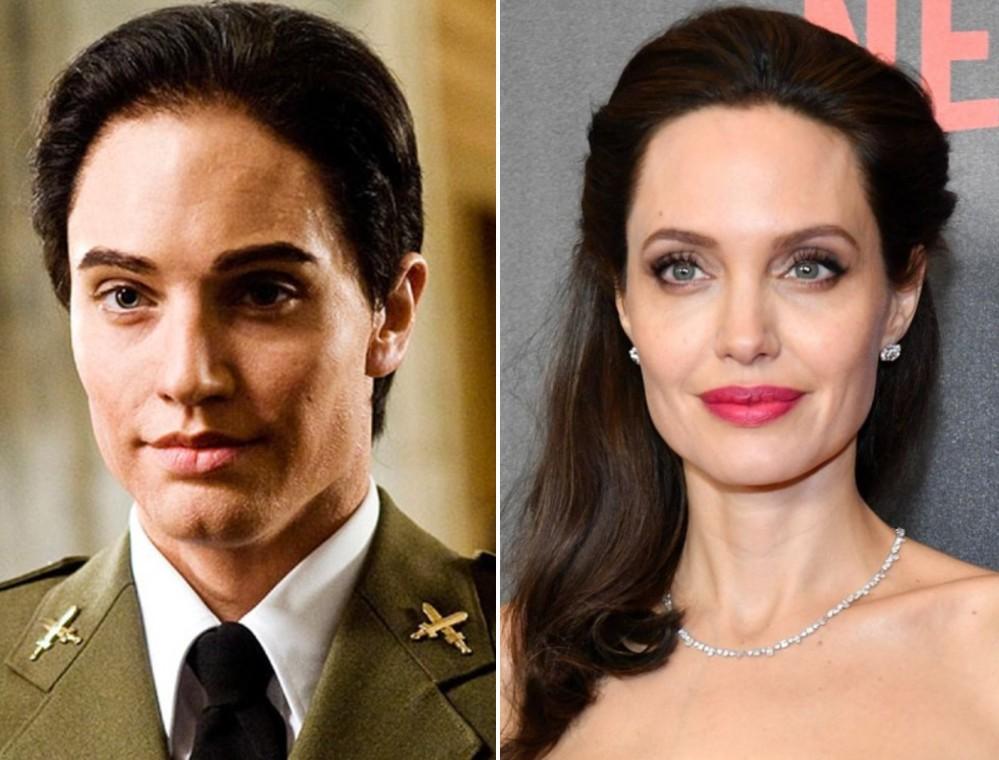 Анджелина Джоли — «Солт» | 16 случаев, когда гримеры круто постарались | Zestradar