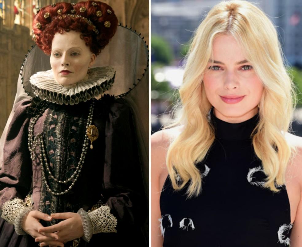 Марго Робби — «Две королевы» | 16 случаев, когда гримеры круто постарались | Zestradar