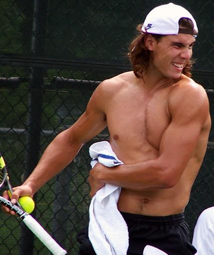 Рафаэь Надаль, 34 | Идеальное тело: 10 самых сексуальных спортсменов современности | Zestradar