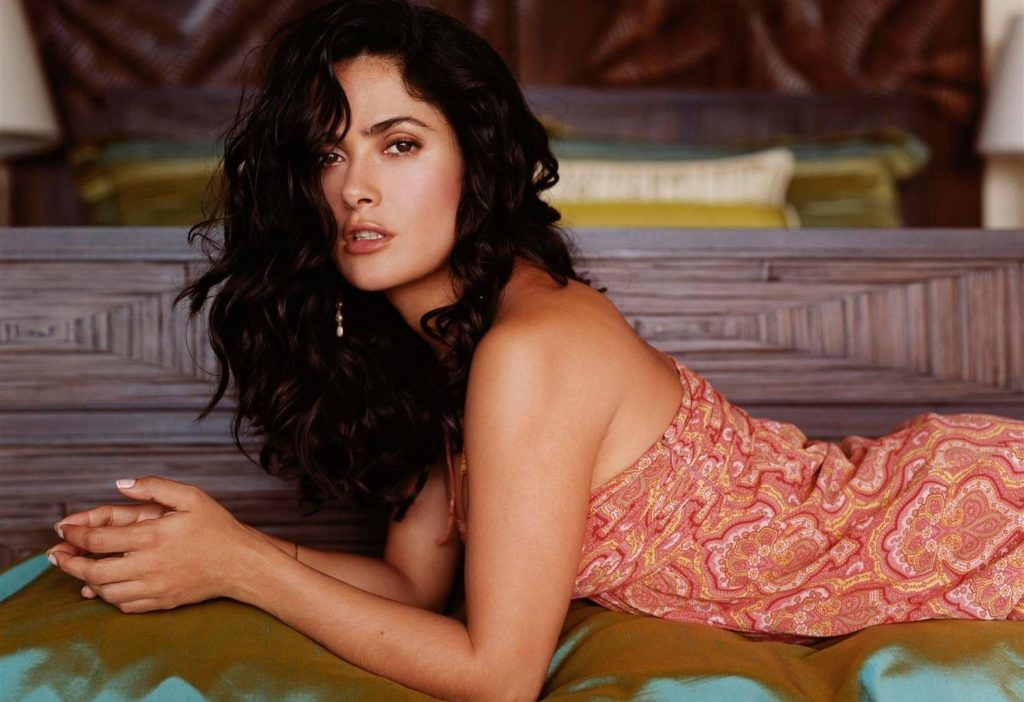 Сальма Хайек | 8 самых сексуальных актрис 90-х, по которым все сходили с ума | Zestradar