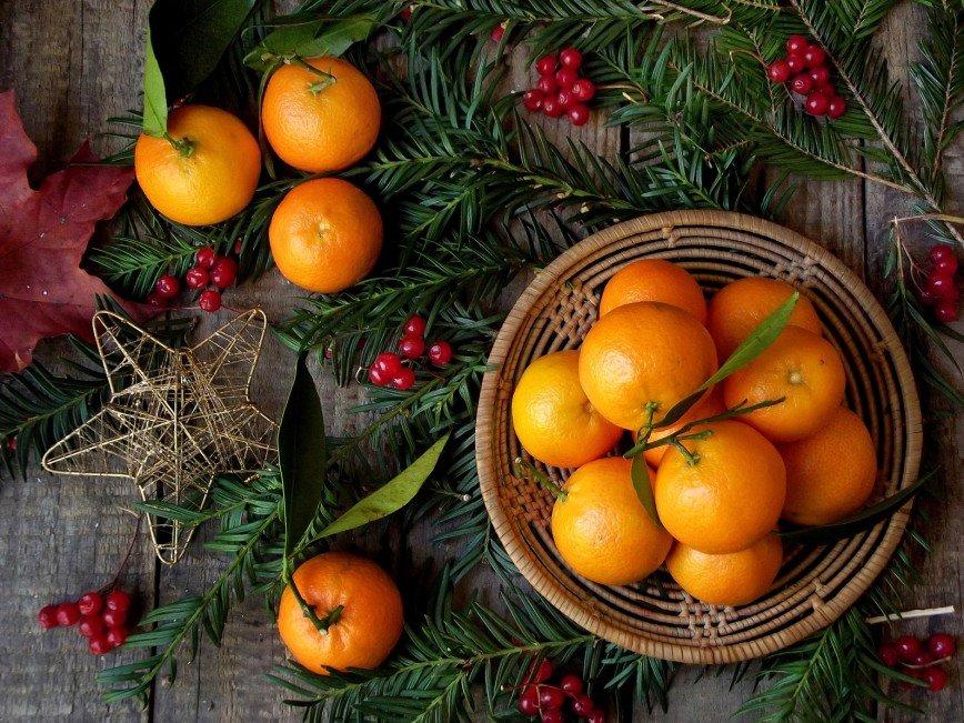 Мандарины | 8 самых вредных блюд на новогоднем столе | Zestradar