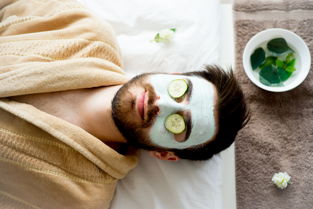 Face Mask | At-Home Spa Day Ideas for Men | Zestradar