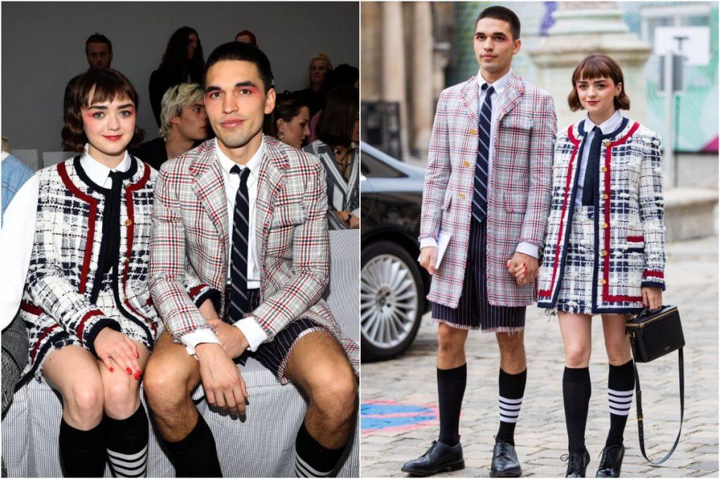 #1 | Maisie Williams And Her Boyfriend Matching Outfits | Zestradar