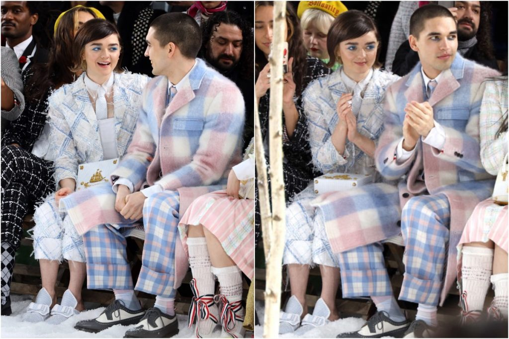 #2 | Maisie Williams And Her Boyfriend Matching Outfits | Zestradar