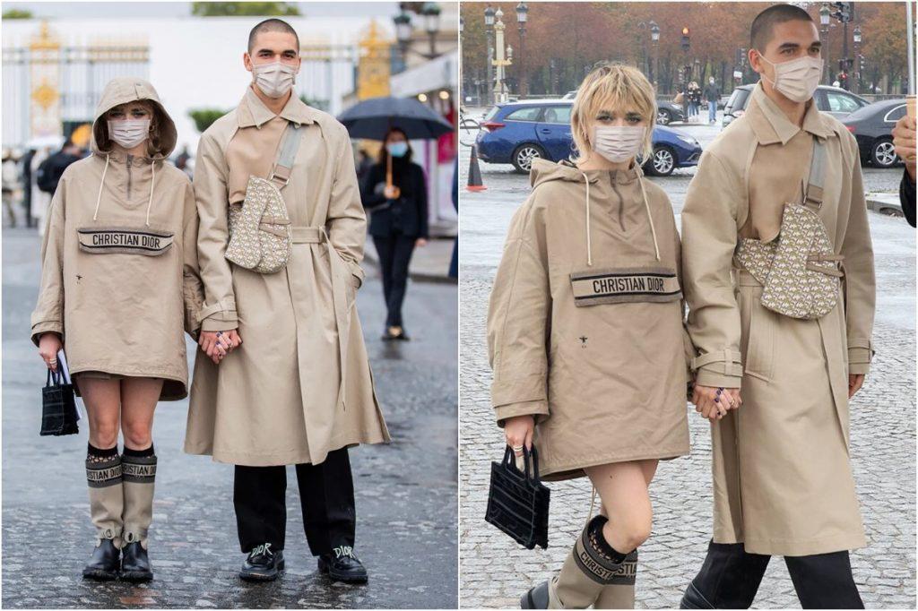 #3 | Maisie Williams And Her Boyfriend Matching Outfits | Zestradar