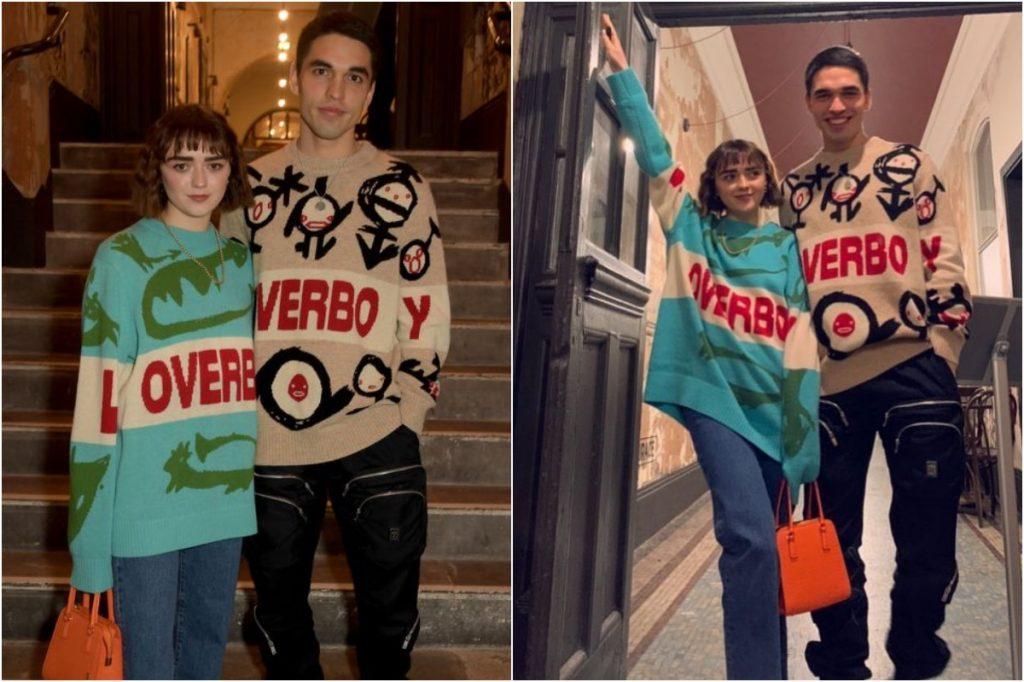 #4 | Maisie Williams And Her Boyfriend Matching Outfits | Zestradar