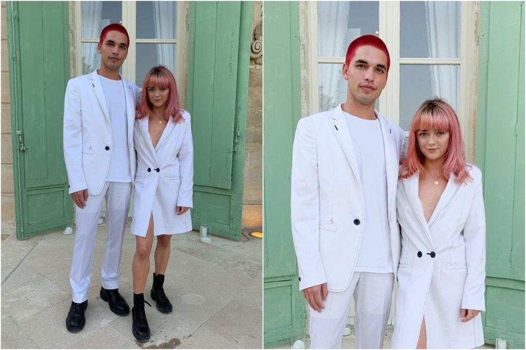 #6 | Maisie Williams And Her Boyfriend Matching Outfits | Zestradar