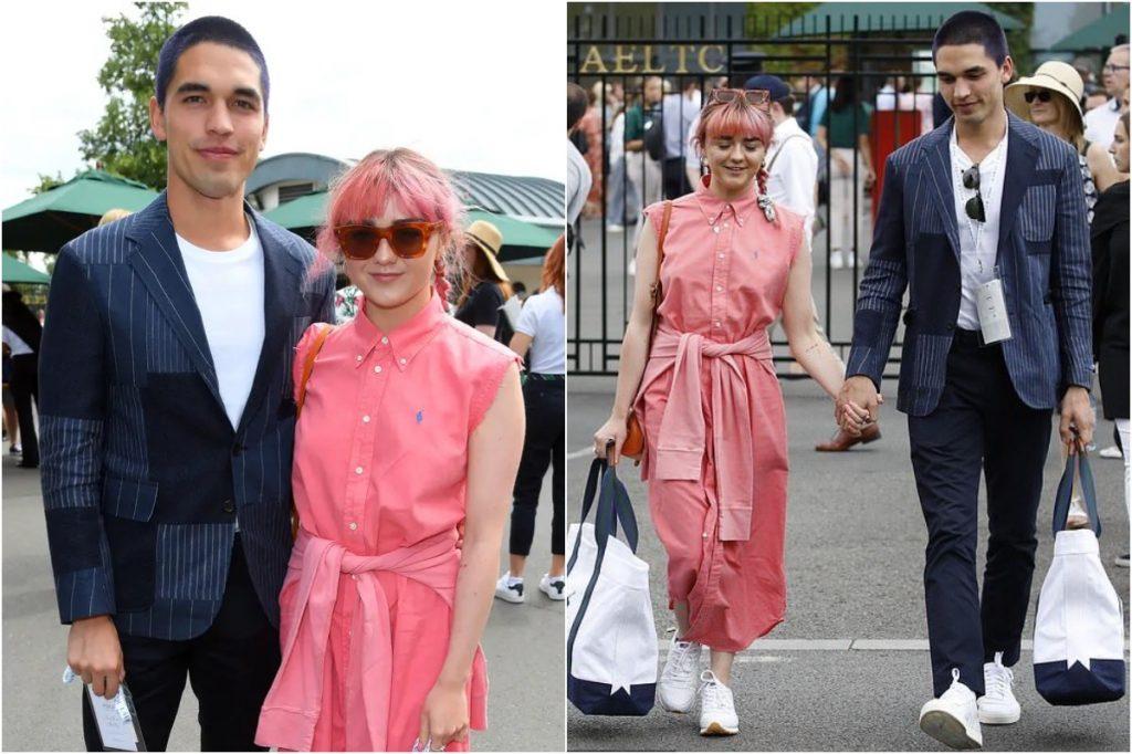 #7 | Maisie Williams And Her Boyfriend Matching Outfits | Zestradar