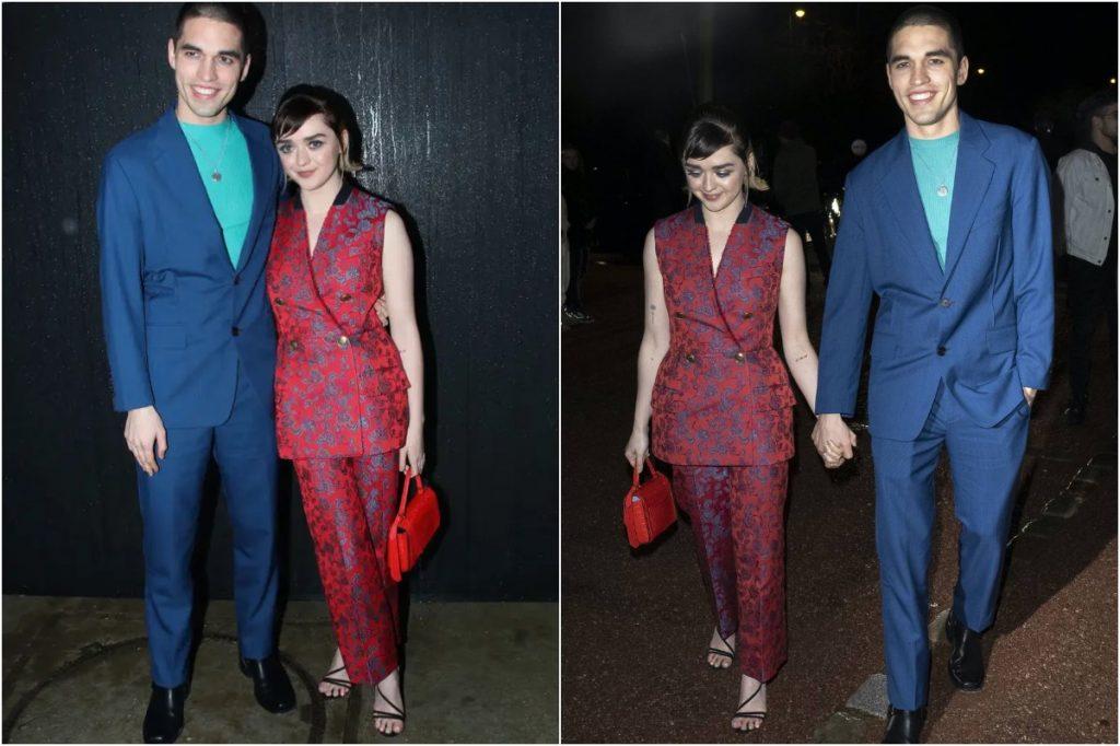 #8 | Maisie Williams And Her Boyfriend Matching Outfits | Zestradar