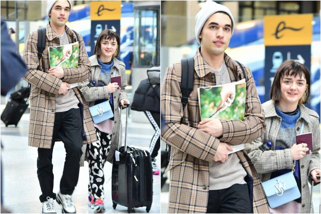 #9 | Maisie Williams And Her Boyfriend Matching Outfits | Zestradar