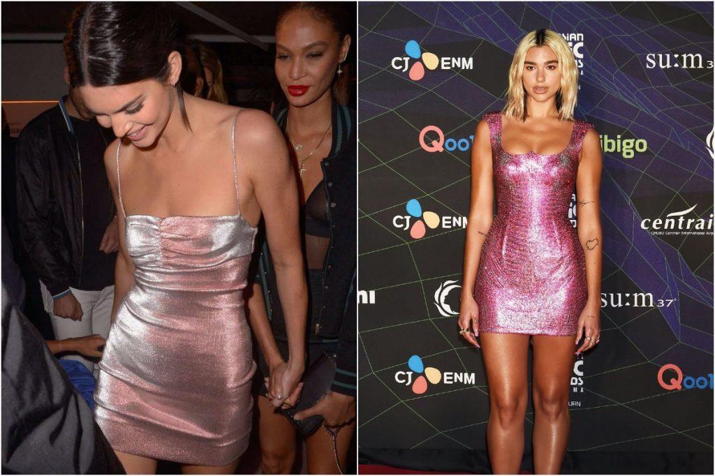 Sparkly Mini Dress | Whose Style Do You Prefer: Kendall Jenner vs Dua Lipa | Zestradar