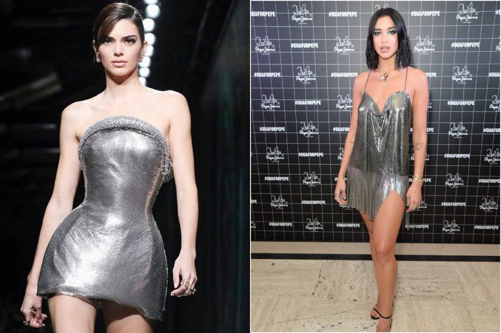 Silver Dress | Whose Style Do You Prefer: Kendall Jenner vs Dua Lipa | Zestradar