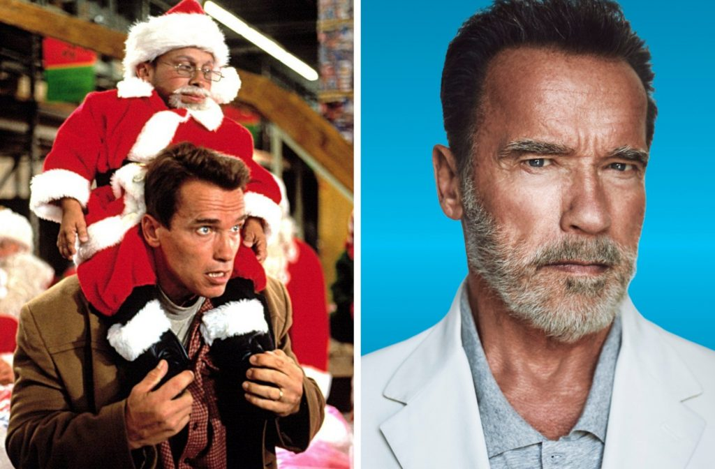 Арнольд Шварценеггер   Лица Нового года: актеры из знаменитых праздничных фильмов тогда и сейчас   Zestradar